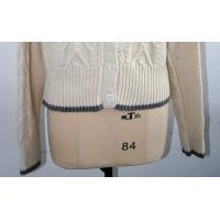 Quality Autumn Oversized Knit Sweaters , Oversized Knit Cardigan 550g Weight for sale