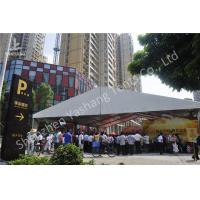 Wholesale 15x25M Clear Span Outdoor Party Tents , Metal Frame Rain Proof Tent For Outside Party from china suppliers