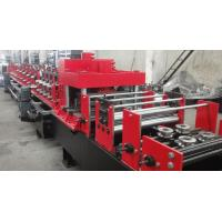 China Automated Changeable C Z Purlin Roll Forming Machine For 100-300 Mm Width on sale