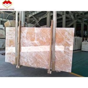 Wholesale Backlit Ice Age Onyx Marble Wall Panel Translucent Onyx Slab Agate Stone from china suppliers