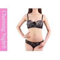 Wholesale Young Girls Sexy Ladies Bra Sets , custom black lace underwear and bras from china suppliers