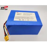 China BMS RS232 Lithium LiFePO4 Battery 12V 20Ah Capacity For Solar System SOC XT60 on sale