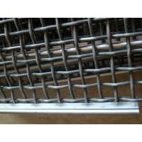 China Galvanized Crimped Wire Mesh Vibrating Sieve Mesh For Protection With 1mm-8mm Wire for sale