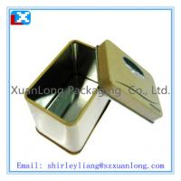 Wholesale Square metal cookie tin from china suppliers