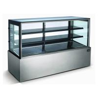 China Stainless Steel Refrigerated Bakery Display Case , Bakery Fridge Display on sale