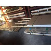 2205 2507 Duplex Stainless Steel Plate , Stainless Steel Sheet Brushed Surface AISI 201 316L