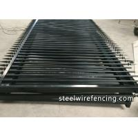 Wholesale Factory Security Automatic Driveway Gates / Ornamental Metal Railings from china suppliers