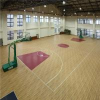 Buy cheap sport floor table teinnis, volleyball indoor sports surface/Futsal/Tennis basketball flooring from wholesalers