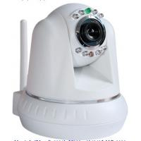 Quality M-JPEG and CMOS Wireless IP Cameras with Two-way Intercom Network, 8 Infrared LED for sale