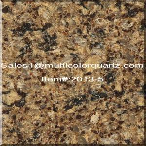 China multicolor quartz engineered quartz artificial quartz for kitchen countertop on sale