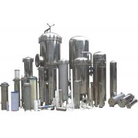 China High Pressure PP Pleated Clear Water Filter Housing / Water Filter Cartridge Housing on sale