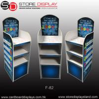 Wholesale POP FSDU corrugated floor display shelves from china suppliers
