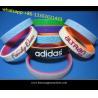Custom Promotional Wrist Band,Adjustable Silicon Wristband,Promotional Silicone band for sale