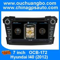 Wholesale Ouchuangbo GPS Stereo Radio DVD nav Player for Hyundai I40 2012 USB S100 Platform OCB-17 from china suppliers