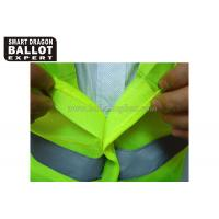 Quality High Visibility Security Reflective Vests With Reflective Srips Uniforms for sale