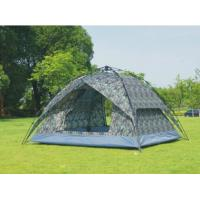 China Fast Pitch Instant Camouflage Automatic Camping Tent for 3-4 Person Outdoor Hiking Camping and Picnic(HT6075) on sale