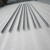 Wholesale hot sale best price high purity ASTM B737 99.5% hafnium round bar from china suppliers