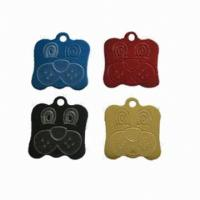 Wholesale Blank Necklace Dog Identification Tags 304 Stainless Steel Laser Engraved With Military from china suppliers