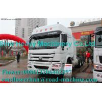 Wholesale Promo SINOTRUK HOWO 6 X 4 TRACTOR HEAD 371HP with Euro II / III standard ZZ4257S3241V from china suppliers