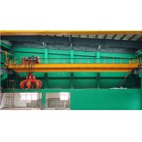 Buy cheap Electric Hoist Overhead Double Girder Grab Bucket Crane from wholesalers