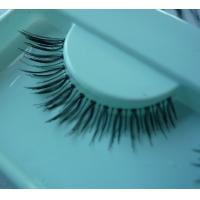 Curly Natural False Eyelashes Makeup , Semi Permanent Eye Lashes for sale