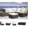 fashion wicker rattan outdoor sofa furniture E-555 for sale