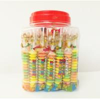 Wholesale Multi fruit flavor Baby Candy Brochette in Plastic Jars Taste sweet and sour from china suppliers