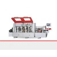 Quality Fine Trimming Veneer Edge Banding Machine , Wood Edge Bender Machine 0.6Mpa for sale
