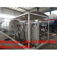 Buy cheap customized 10tons skid lpg gas filling station with 4 digital scales,10tons skid lpg gas tank with digital scales from Wholesalers