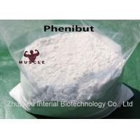Wholesale Nootropic Drug Powder Phenibut for Antidepressant CAS: 1078-21-3 with Safe Delivery from china suppliers