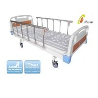 Wholesale 2 Crank Adjustable Abs Bed Surface Medical Hospital Beds with Lock ALS-M208 from china suppliers