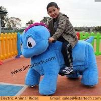 Wholesale Plush Steel PU Material Walking Animal Rides, Ride On Toy Style Moving Animal Toy from china suppliers