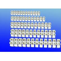 Wholesale H Type Screw Terminal Block Connector , Touch Safe 12 Way Terminal Block 250V-450V GK107 from china suppliers