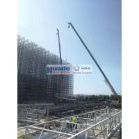 China Clad Rack Warehouse, Rack self-supporting Structure with roof and wall clading for sale