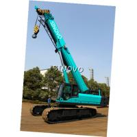 Buy cheap Telescopic Hydraulic Crawler Crane with Cummins Engine , 0 ~ 2.0 r/min Slewing speed from Wholesalers