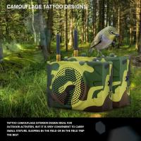 Wholesale Russia camouflage color outdoor sport speaker with remote control from china suppliers