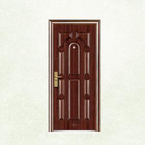 Buy cheap New Flush Panel Steel Door Design Steel Security Doors EGI Doors from wholesalers