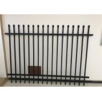 China supplier - hot sale Diplomat steel 2100high road steel garrison fence for sale