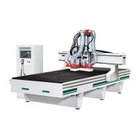 Wholesale AC380V / 50Hz Cnc Wood Engraving Machine , Vacuum CNC Routers For Woodworking from china suppliers
