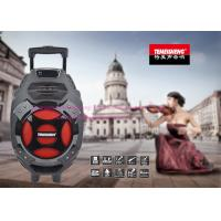 Wholesale Rechargeable Live PA Speakers / 8 Inch Powered Pa Speakers with Trolley from china suppliers