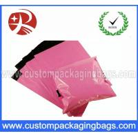 Wholesale Self Adhesive Pink Poly Mailing Bags , Custom Printed Poly Bags Pass SGS from china suppliers