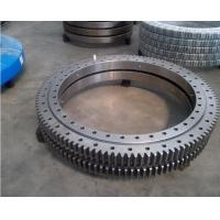 Wholesale slewing ring for zoomlione 25 tons crane use outer gear slewing bearing, xuzhou zhongya 50Mn turntable bearing from china suppliers