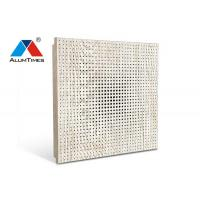 China Corridor Vented Drop Ceiling Tiles / Perforated Aluminum Commercial Acoustical Ceilings on sale