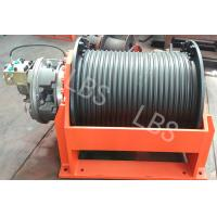 China Anchor Type Lebus Groove Drum Power Winch Machine ,mooring and boat ,One Year Warranty on sale