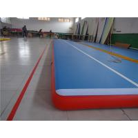 Wholesale Commercial Outdoor Tumbling Mats , Blow Up Air Track For Playground Wear Resistance from china suppliers