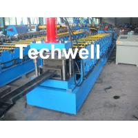 Wholesale Single Side Adjustable C Purlin Roll Form Machines With Manual / Hydraulic Decoiler from china suppliers