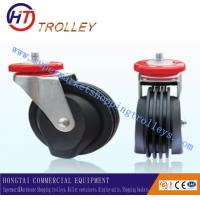 Quality Universal Elevator 5 Inch TPR Castors Shopping Trolley Spare Parts Four Sides for sale