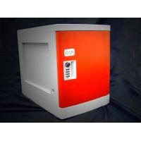 Wholesale Anti Rust / Anti Water Red ABS Plastic Lockers 4 Tier For Employee Keyless from china suppliers