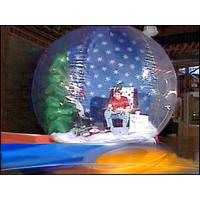 Wholesale Christmas Holiday Decoration Inflatable Snow Globe Bubble Tent from china suppliers