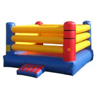 Wholesale Adult Inflatable Sports Games , Exciting Inflatable Boxing Ring Bouncer from china suppliers